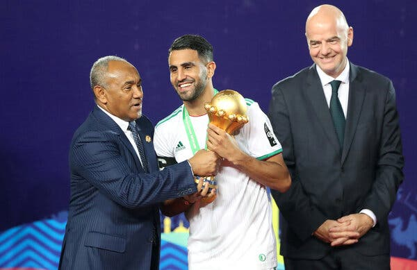 Africa's Top Soccer Official Faces New Ethics Investigation