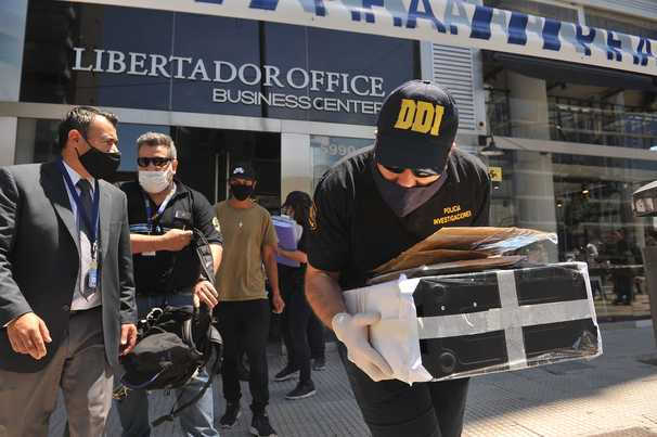 Authorities search home and office of Maradona's doctor