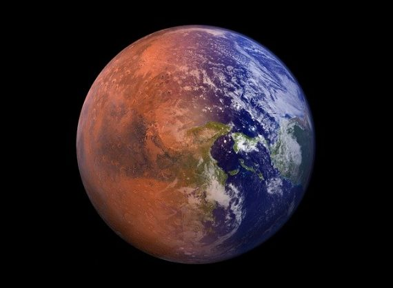 British Doctor Claims Legal Ownership of Mars by Firing Lasers at It