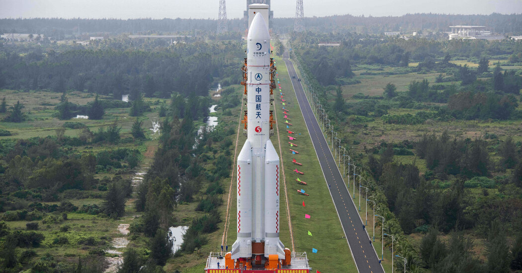 China to Launch Moon Mission to Collect Lunar Rocks