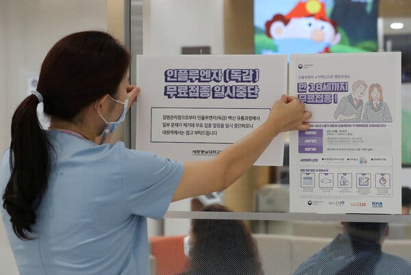 How South Korea Responded to Fears Over the Flu Vaccine