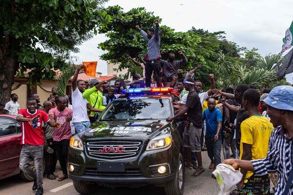 Nigeria Goes on Offensive Against Youth Protesting Police Brutality