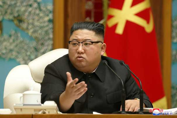 North Korea's Kim vents fury as pressure mounts over virus and economy, South says