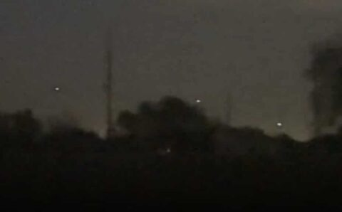 UFO activity caught on tape over Sealy, Texas 17-Nov-2020