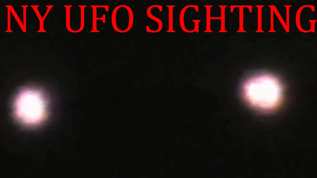 2 pink orbs above crowd multiply then zip away | NY UFO SIGHTING