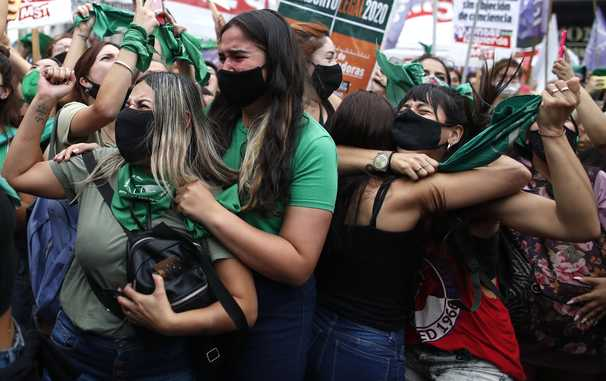 Abortion rights advocates throughout Latin America draw inspiration from Argentina vote