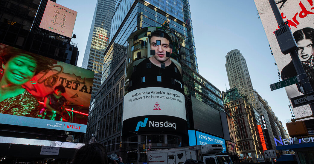 Airbnb Tops $100 Billion on First Day of Trading, Reviving Talk of a Bubble