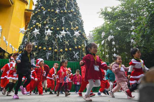 Coronavirus has altered Christmas. But in a few countries, it looks a little like normal.