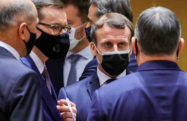 European leaders clash in Brussels but ultimately agree on a coronavirus rescue package and new climate goals