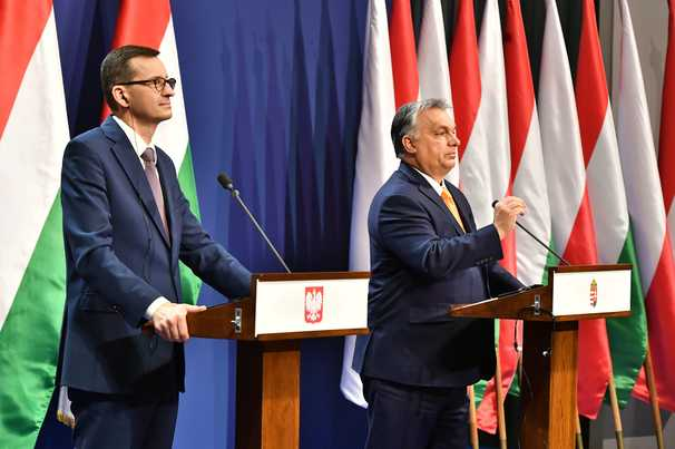 Europe's 'rule of law' standoff with Poland and Hungary becomes test over defining values
