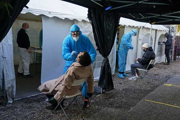 Germany was held up as an example of how to do the pandemic. Now it's struggling.