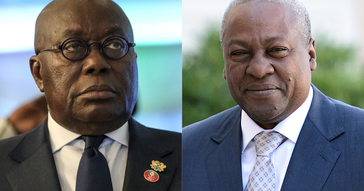 Ghana votes in tight race between incumbent and former president