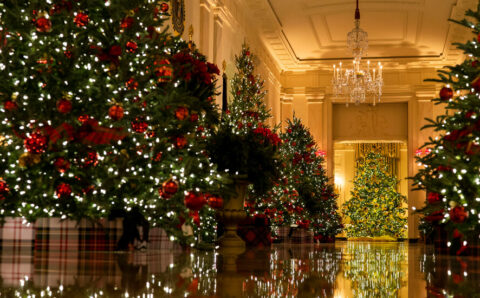 It's Holiday Party Season at the White House. Masks Are Encouraged, but Not Required.