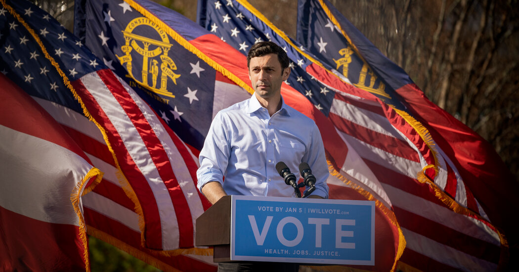 Jon Ossoff Got Some Breaks in Politics. And He Made a Few of His Own.