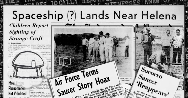 Montana's Dubious UFO Landing of 1964 – The Saucers That Time Forgot