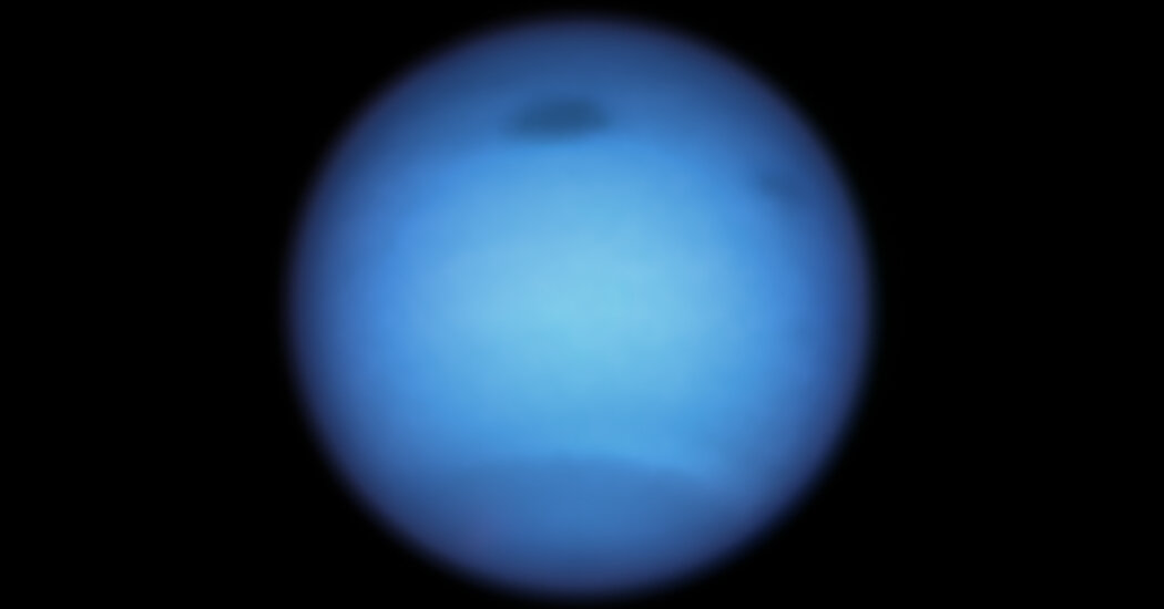 Neptune's Weird Dark Spot Just Got Weirder