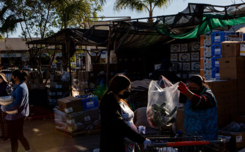 New Signs of Economic Distress Emerge as Trump Imperils Aid Deal