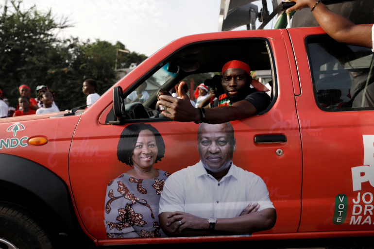 Old rivals square up again in Ghana's tight presidential election
