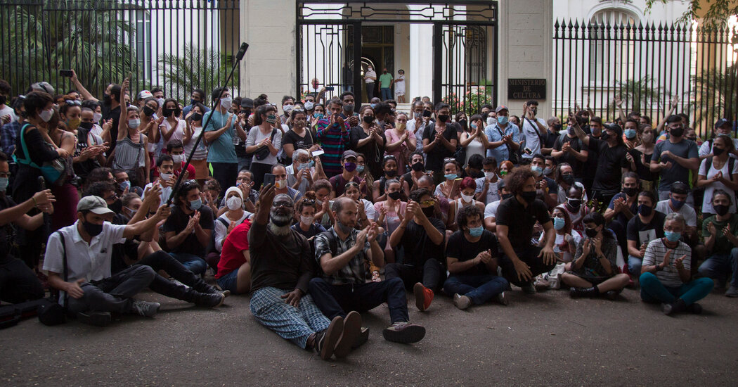 'On Social Media, There Are Thousands': In Cuba, Internet Fuels Rare Protests