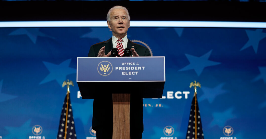 On Working With Congress, Biden Predicts Success Where Predecessors Failed
