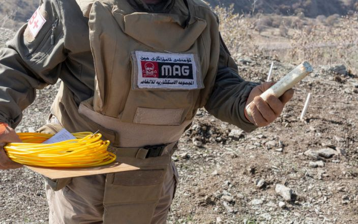 Saddam's deadly legacy: 40 years after war with Iran, border area is still littered with landmines