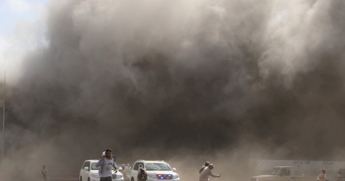 Several killed in attack on Yemen's Aden airport: Live news