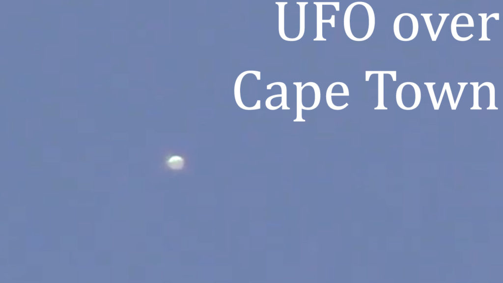 UFO ORB caught on tape over Cape Town, South Africa 6-Dec-2020