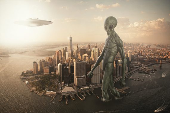 UFO Sightings in New York City Are Up 283% in the Last Two Years