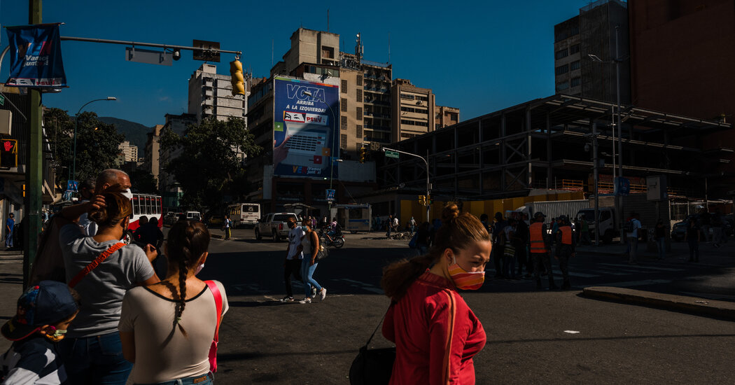 Venezuela to Vote in an Election the Opposition Calls a Charade
