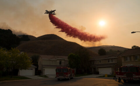 Wealthier, Whiter Areas Are More Likely to Get Help After Fires, Data Show