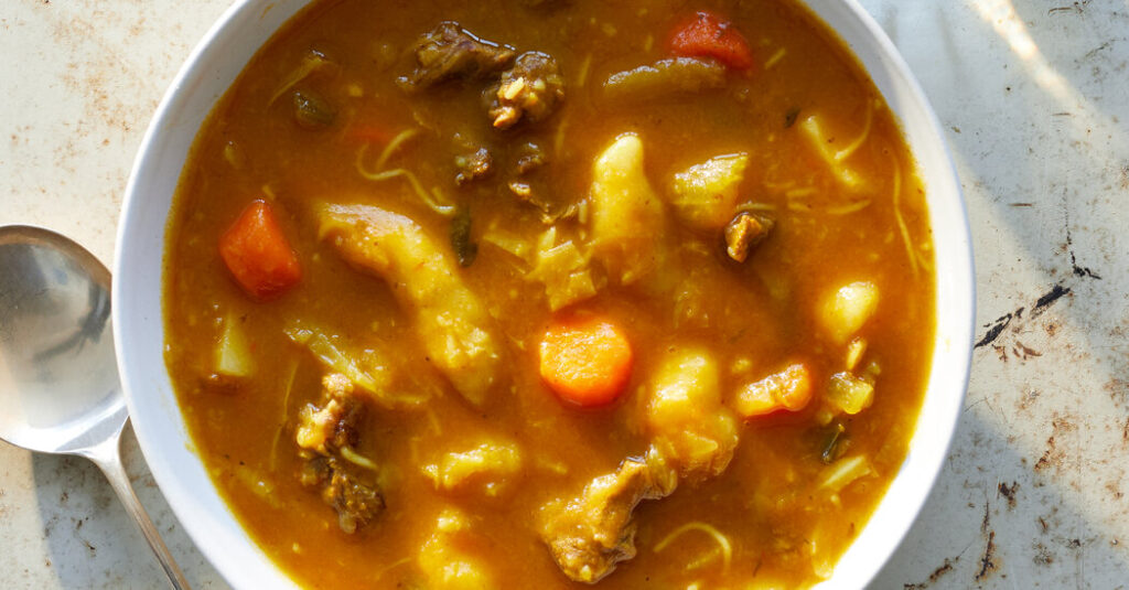 With a Fortifying Soup, Haitians Share Their Pride in Independence