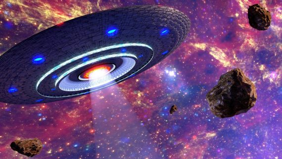 A Quadrillion UFOs in Space? Harvard Professor Says Yes