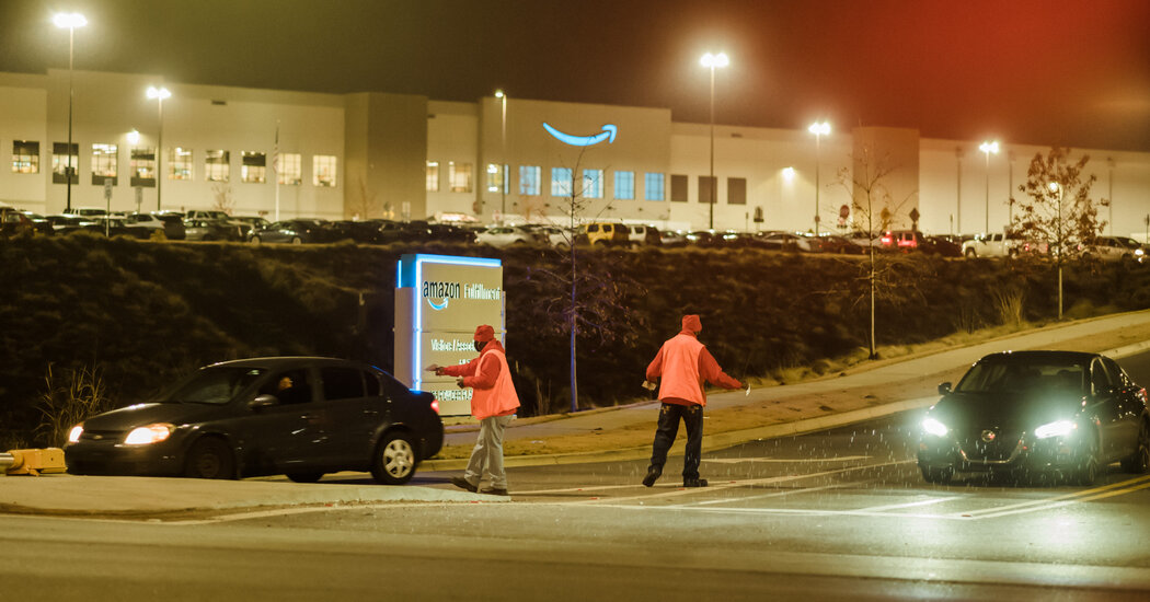 Amazon Union Drive Takes Hold in Unlikely Place