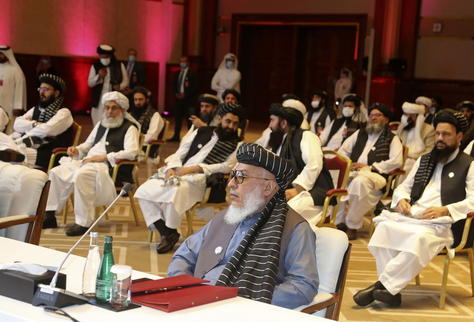 An 'orchard of bad apples' weighs on new Afghan peace talks
