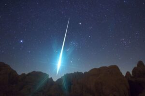 An unidentified space object entered the Earth's atmosphere over Mexico