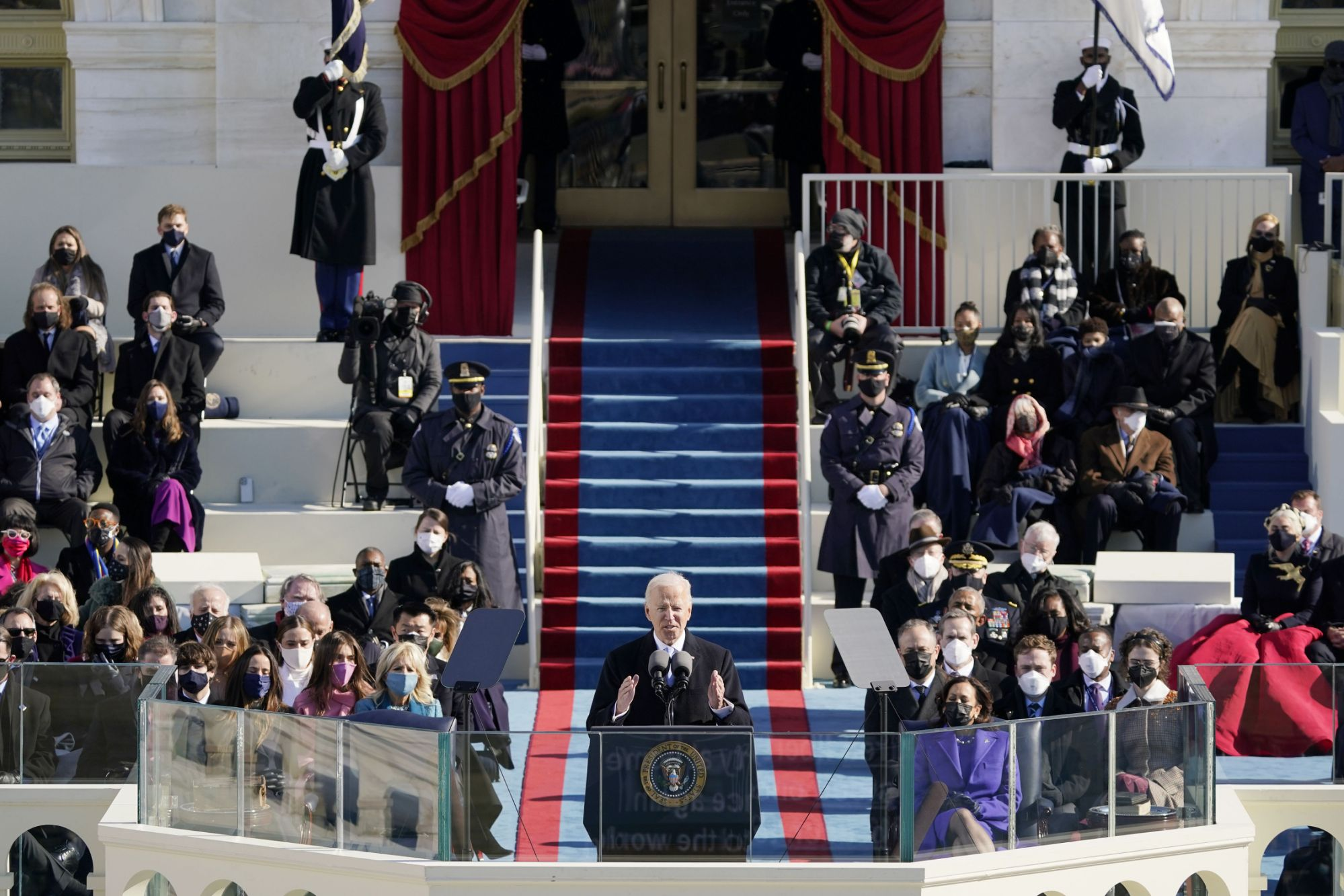 At 78 and the oldest president, Biden sees a world changed