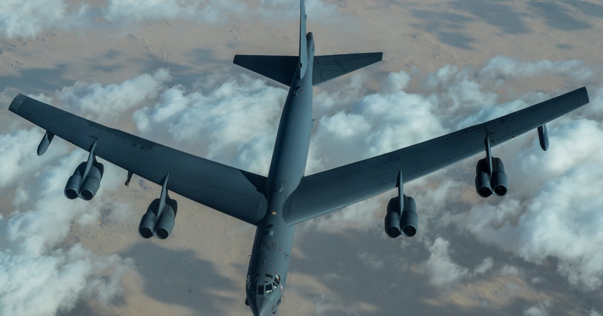 B-52 US bombers fly over Middle East; Iran condemns intimidation