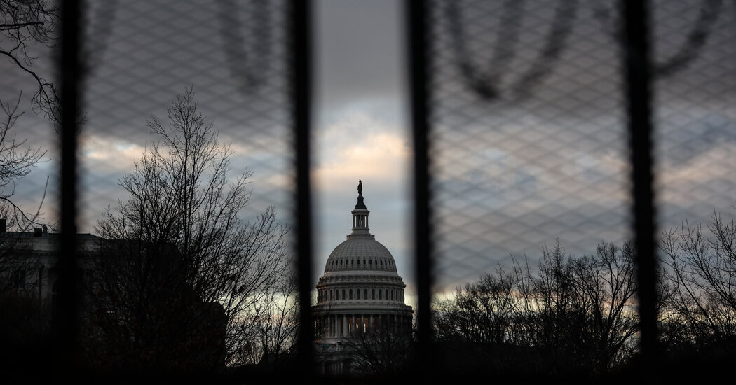 Capitol Police Call for More Security, Prompting Debate Over How Far to Go