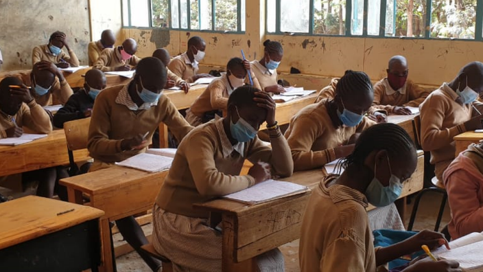 Coronavirus: Kenya reopens schools after nine months