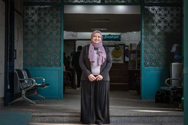 Egyptian charity is an oasis of care amid misery of the pandemic