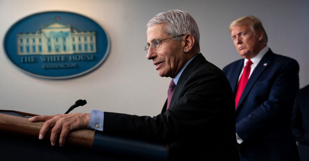 Fauci on What Working for Trump Was Really Like