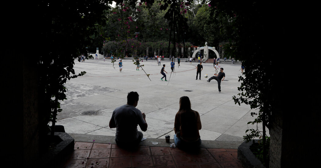 Fleeing lockdown, Americans are flock to Mexico City – where the coronavirus is surging