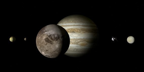 FM Radio Signal Detected Coming from Jupiter's Moon Ganymede