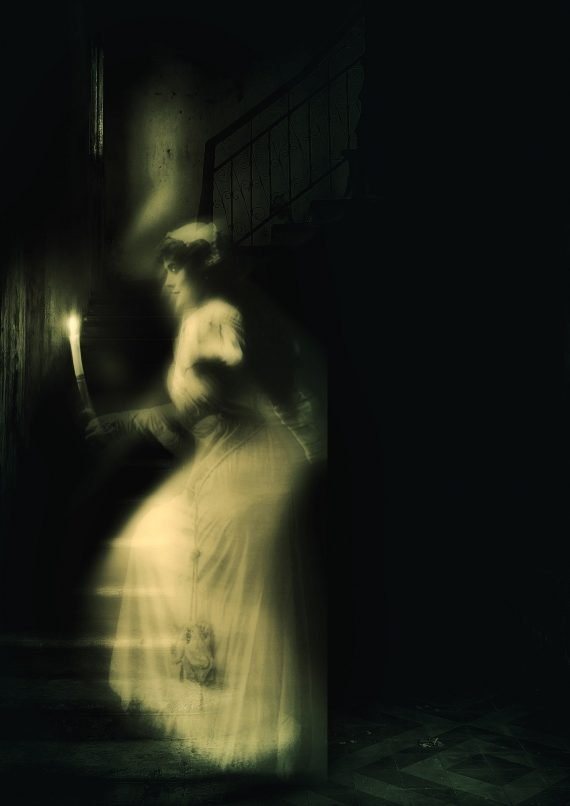 Footage Captured a Ghost Wearing a White Nightgown at Haunted Hotel