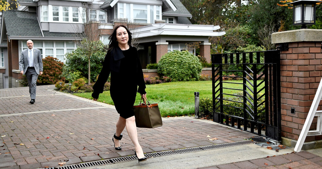 For Meng Wanzhou, Huawei Executive Held in Canada, an Opulent Detention