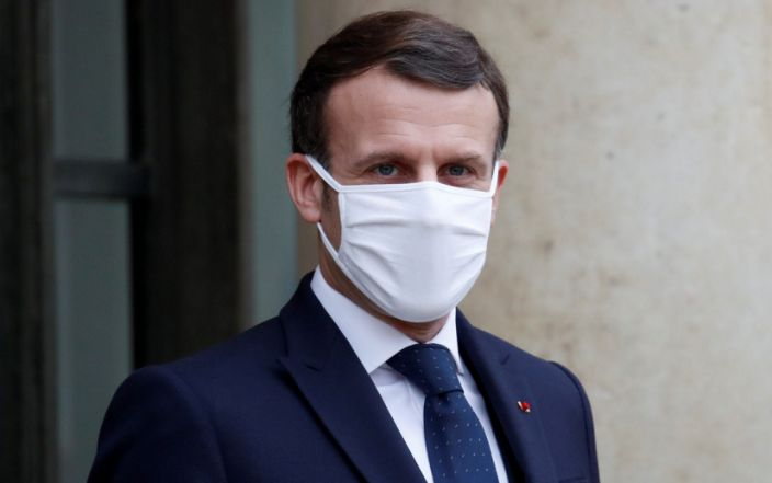Fury at Emmanuel Macron's 'nonsense' claims about Oxford Covid vaccine