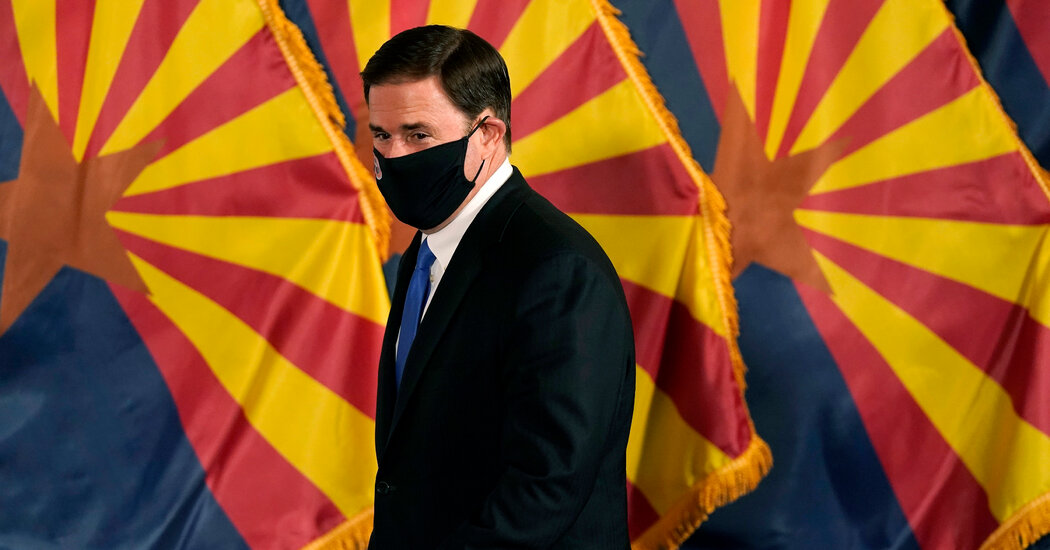 How Doug Ducey, Arizona's Republican Governor, Views His Party After Trump