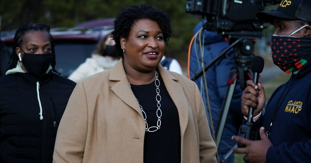 How Stacey Abrams' 10-Year Project to Flip Georgia is Near Fruition