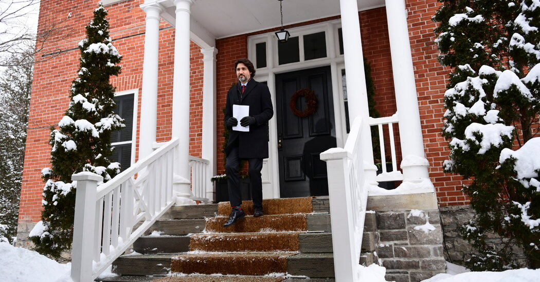 Justin Trudeau Gets Call From Biden as Canada and U.S. Mend Relations