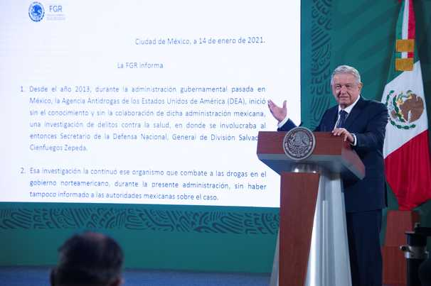López Obrador lashes out at DEA after Mexico exonerates ex-minister on drug charges